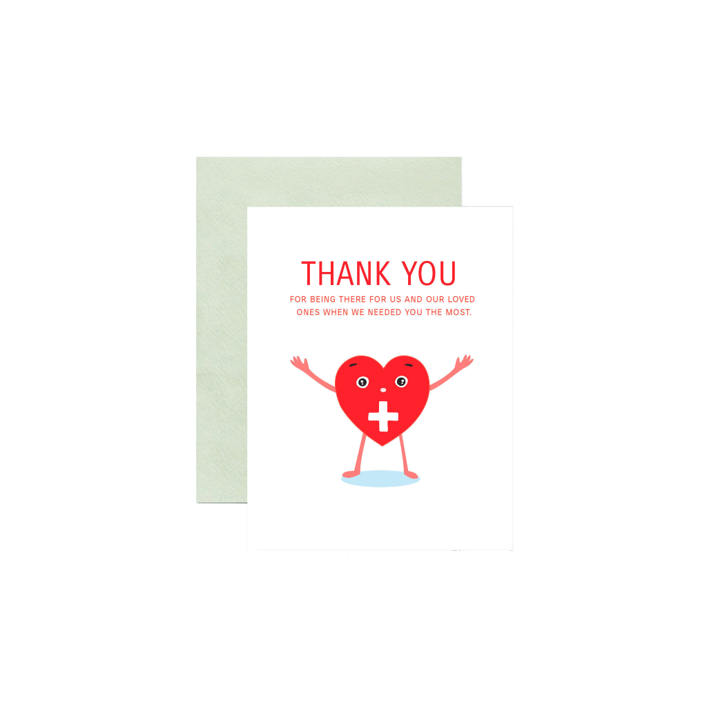 Health Care Workers Thank You Card ILOOTPAPERIE Cards - Thank You