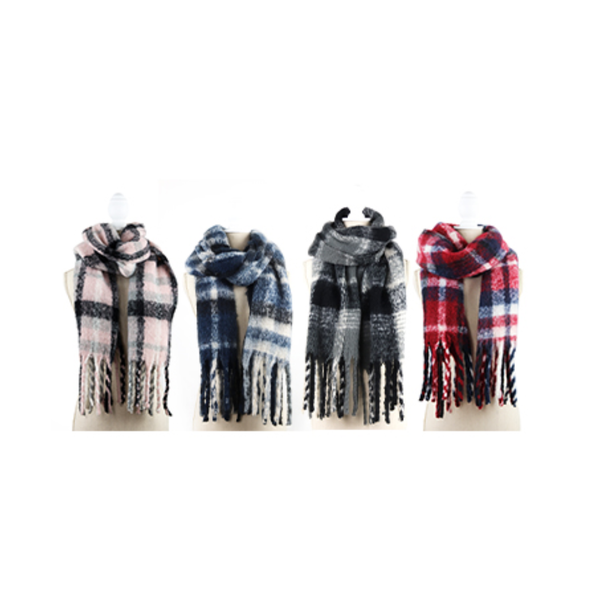 Jack & Missy Oversized Plaid Scarf Jack & Missy Apparel & Accessories - Winter - Scarves