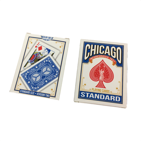 Chicago Playing Cards - Version 2 Blue Deck
