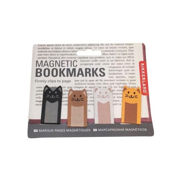 Magnetic Bookmark Cats Kikkerland Books