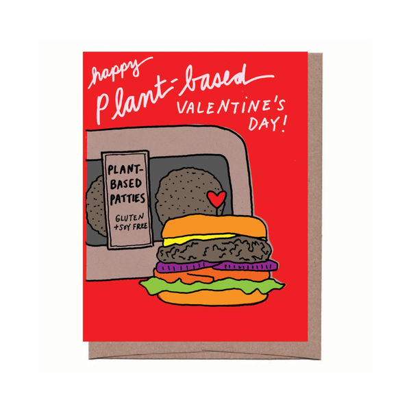 LFG CARD VALENTINE'S PLANT BASED La Familia Green Cards - Valentine's Day