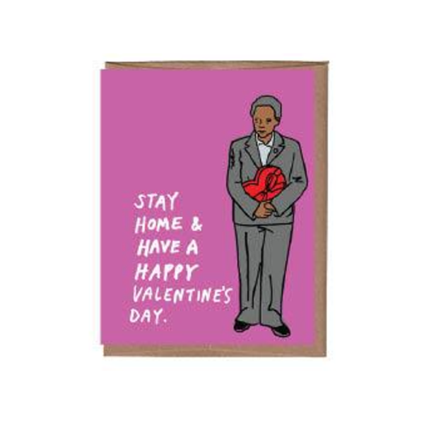 Lori Lightfoot Valentine's Day Card La Familia Green Cards - Valentine's Day