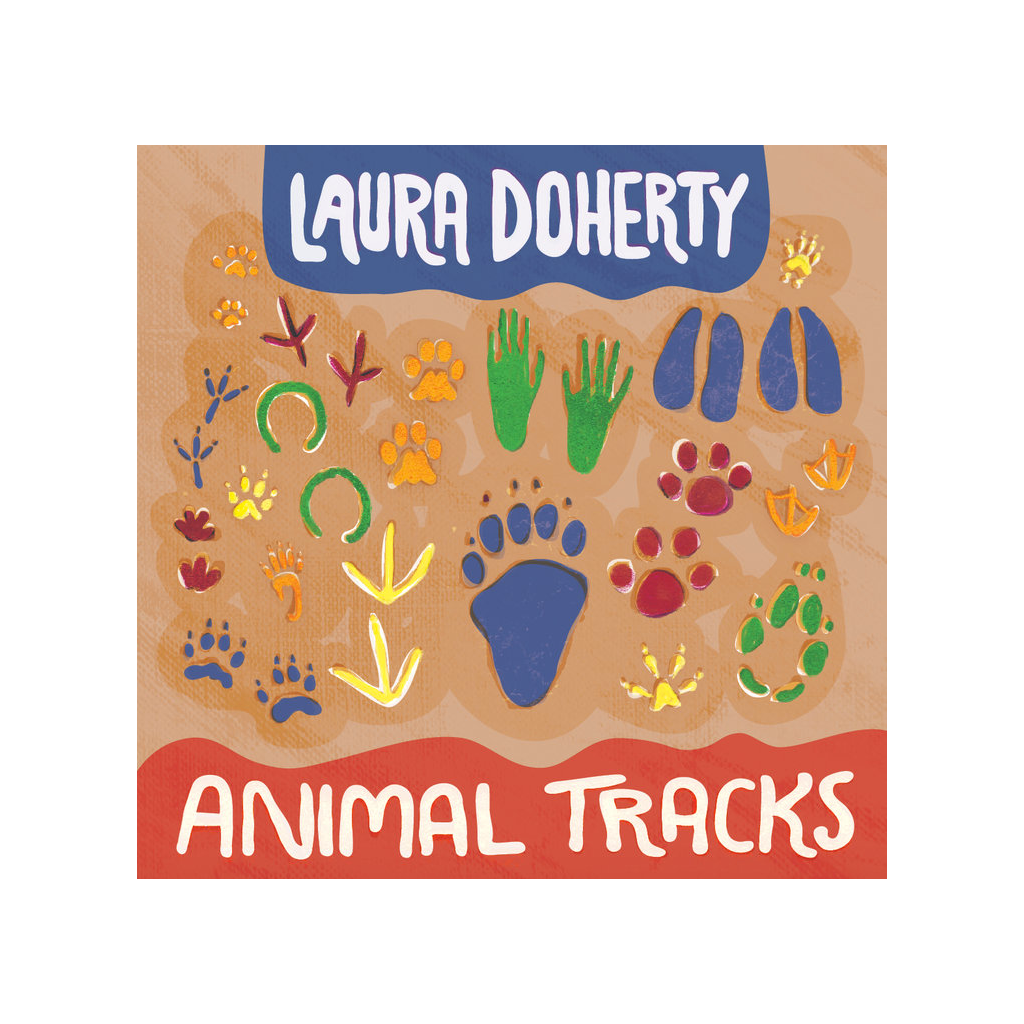 Animal Tracks CD by Laura Doherty Laura Doherty Music CD's