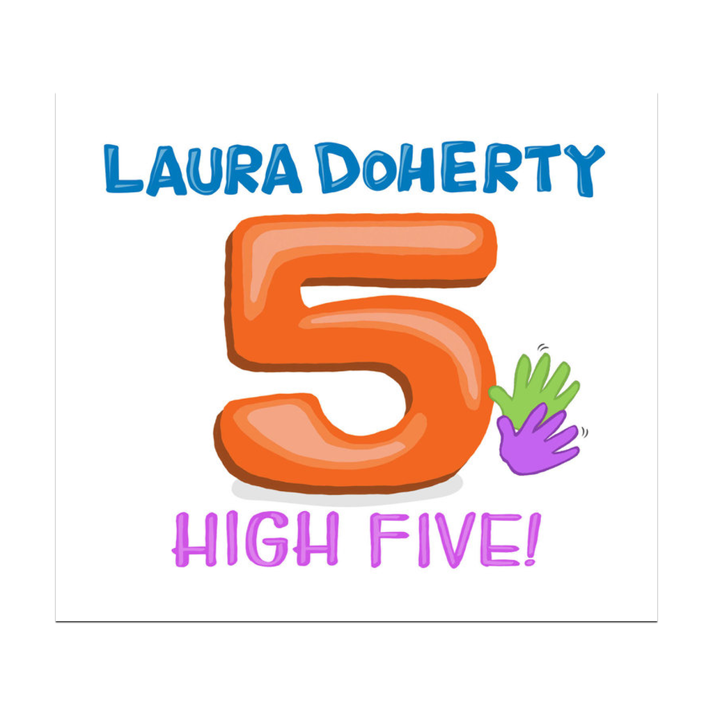High Five CD by Laura Doherty Laura Doherty Music CD's