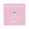 Amazing Mom Necklace - Love Heart Lucky Feather Jewelry - Necklaces