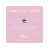 Amazing Mom Necklace - Mama Bear Lucky Feather Jewelry - Necklaces