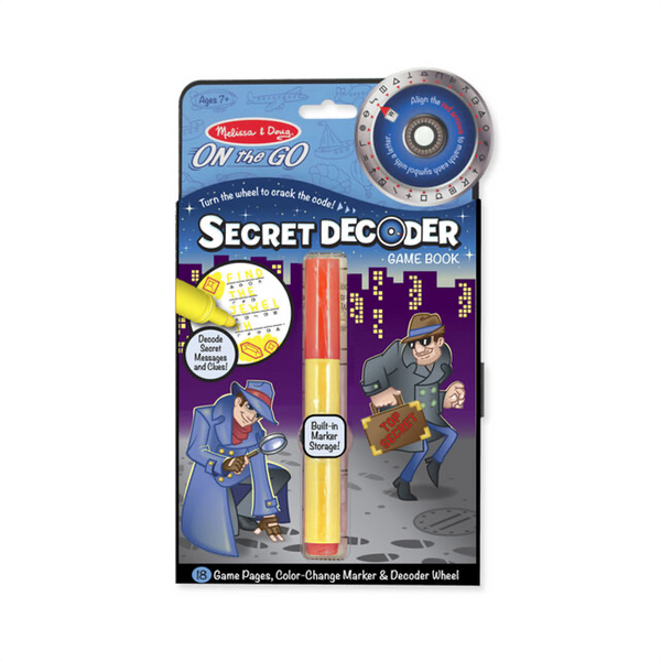 Secret Decoder Game Book MELISSA AND DOUG Impulse - Games