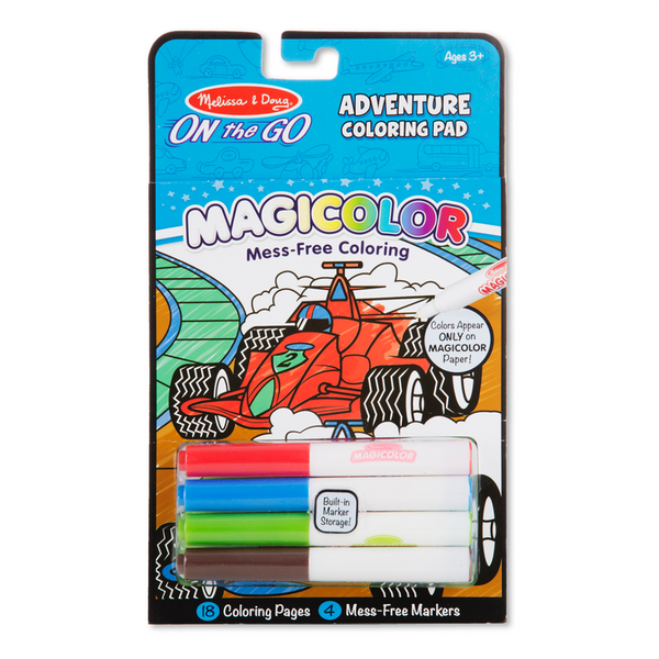Magicolor - On the Go - Games & Adventure Coloring Pad Melissa & Doug Puzzles & Games