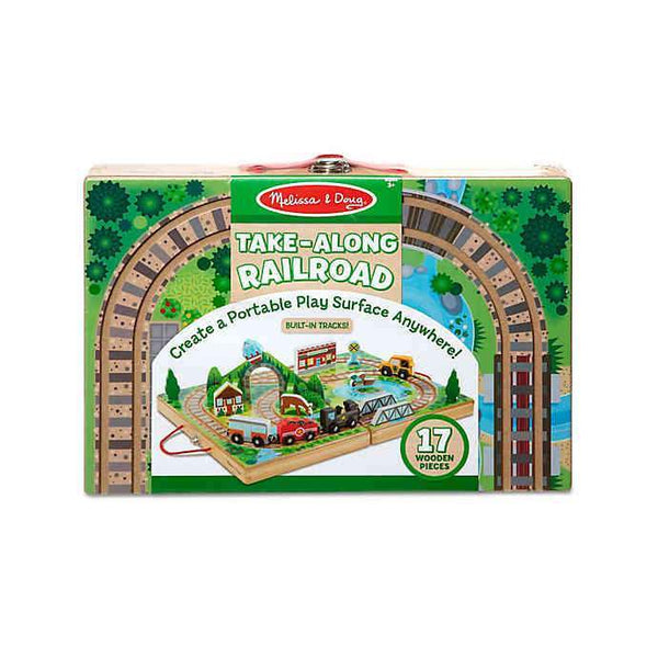 Take Along Railroad Melissa & Doug Toys & Games