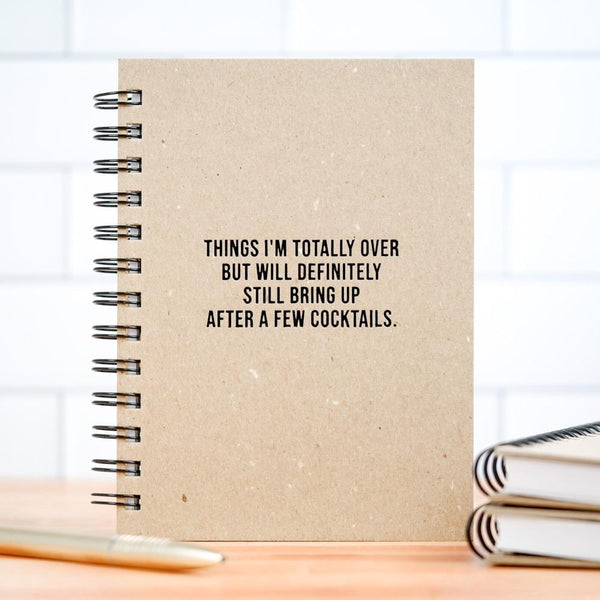 MER JOURNAL: Things I'm Totally Over Notebook Meriwether Books - Blank Notebooks & Journals