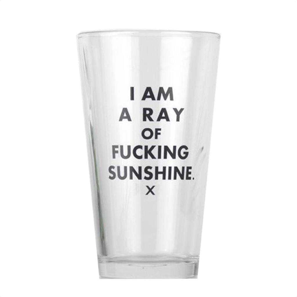 Meriwether Home & Office,Browse All I Am A Ray Of Fucking Sunshine Pint Glass