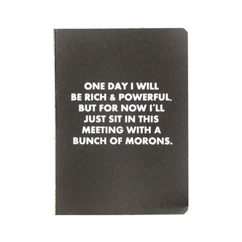 Rich and Powerful Someday Notebook