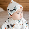 MKB KNOTTED HAT - 3-6 MONTHS Milkbarn Kids Baby - Accessories - Hats