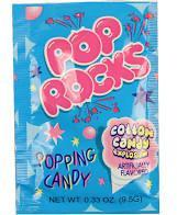 Pop Rocks Cotton Candy MOUNTAIN SWEETS DISTRIBUTING, INC. Candy & Gum