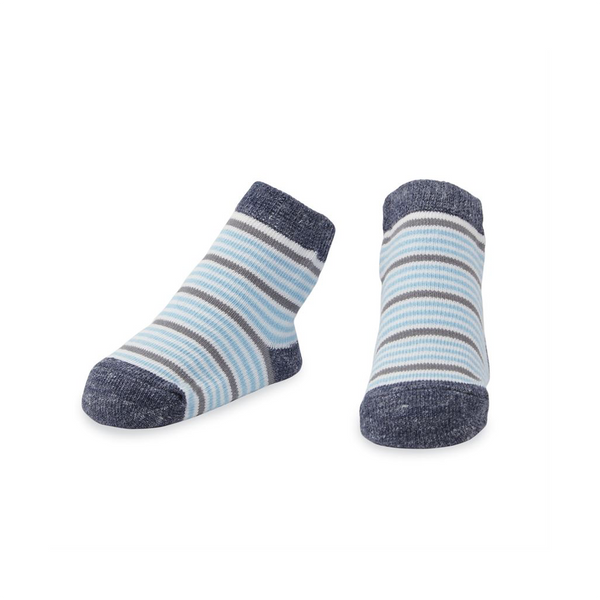 Blue Striped Baby Socks Mud Pie Baby & Toddler Socks & Tights