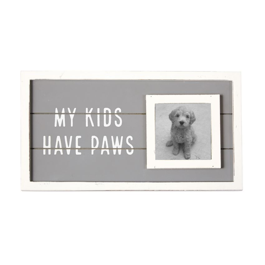 My Kids Have Paws Frame Mud Pie Home & Garden > Decor > Picture Frames