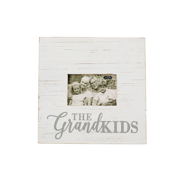The GrandKids Slat Frame Mud Pie Home - Wall & Mantle - Plaques, Signs & Frames
