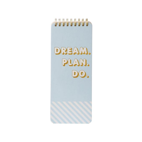 Spiral Notepad - Dream Plan Do Mud Pie Paper & Packaging - Pad
