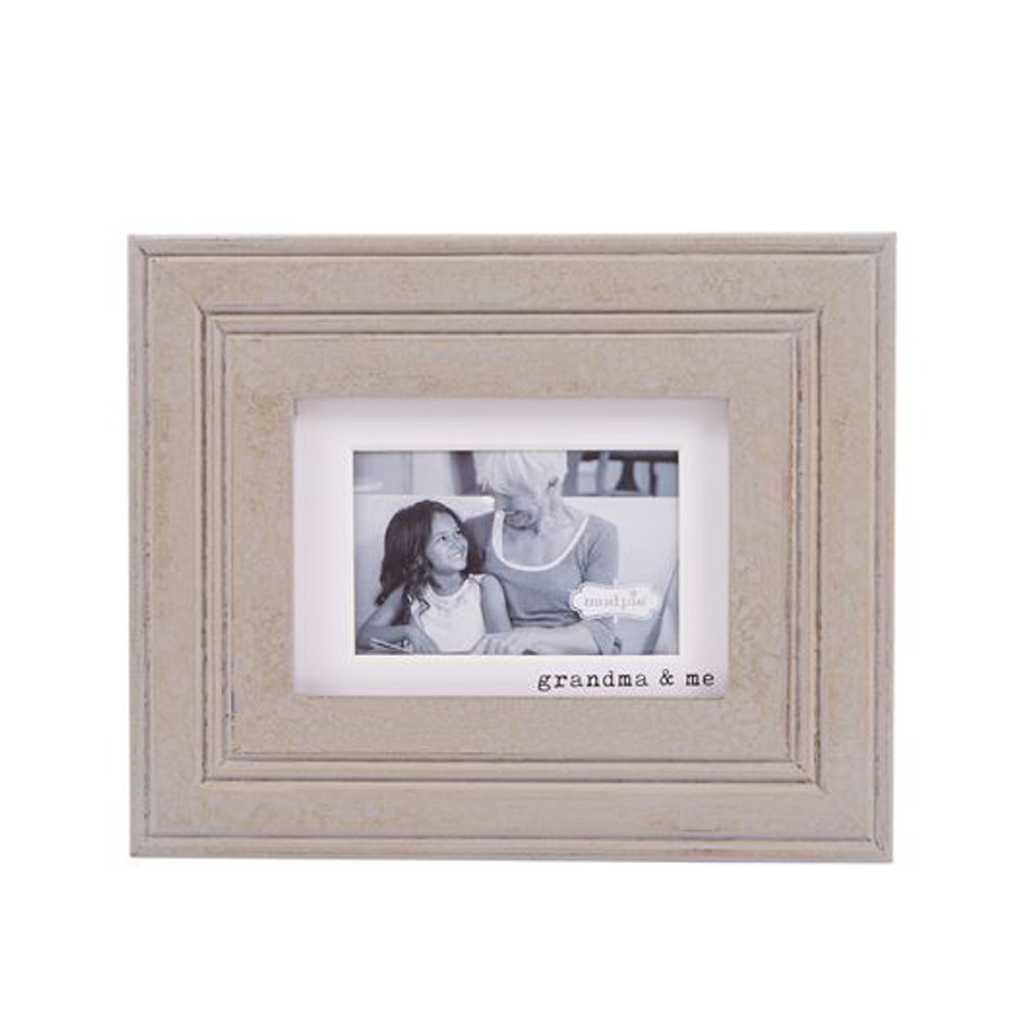 Grandma and Me Wooden Frame Mud Pie Picture Frames