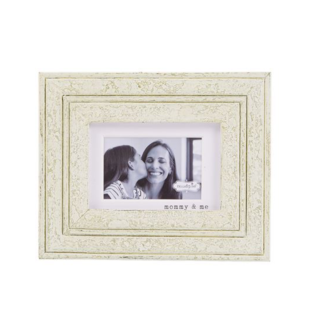 Mommy and Me Wooden Frame Mud Pie Picture Frames