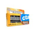 CTA Chicago 'L' Brown Line Wooden Train Toy Munipals Toys & Games > Toys > Play Vehicles > Toy Trains & Train Sets