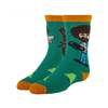 Bob Ross Crew Socks - Kids Oooh Yeah Socks Apparel & Accessories - Socks - Kids