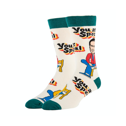 Mister Rogers Neighborhood You Are Special Crew Socks - Mens