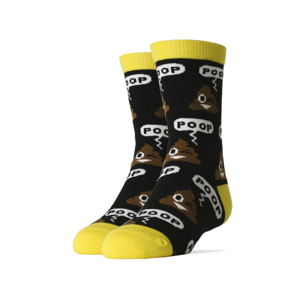 Default Poop! Crew Socks - Youth Oooh Yeah Socks Socks