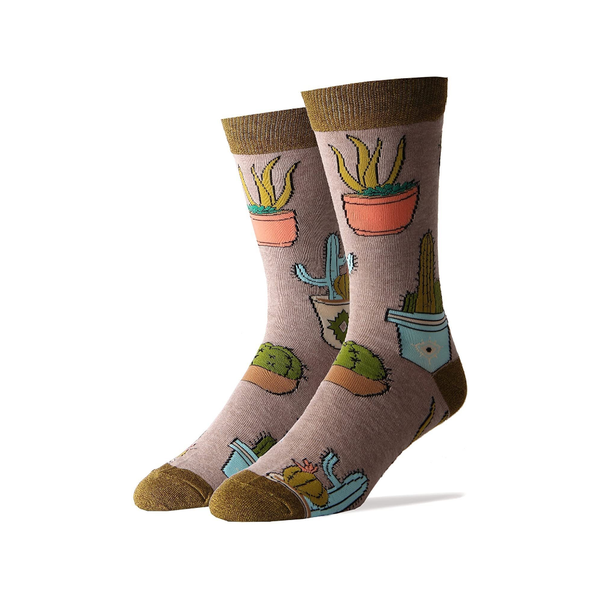 Cactus Hugs Crew Socks - Womens OOOH YEAH SOCKS Socks - Women