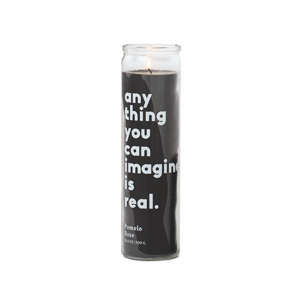 Anything You Can Imagine Is Real Candle - Pomelo Rose - 10 oz. Paddywax Home - Candles