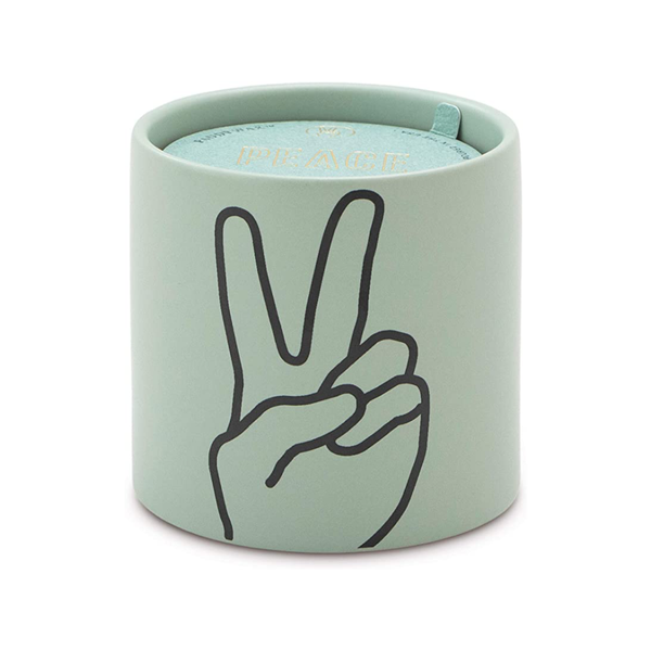 Impressions Peace Candle - Lavender & Thyme 5.75 oz Paddywax Home - Candles