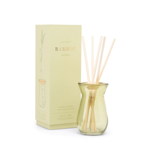 PDW DIFFUSER: FLORA BAMBOO 4 OZ Paddywax Home - Candles - Incense, Diffusers, Air Fresheners & Room Sprays