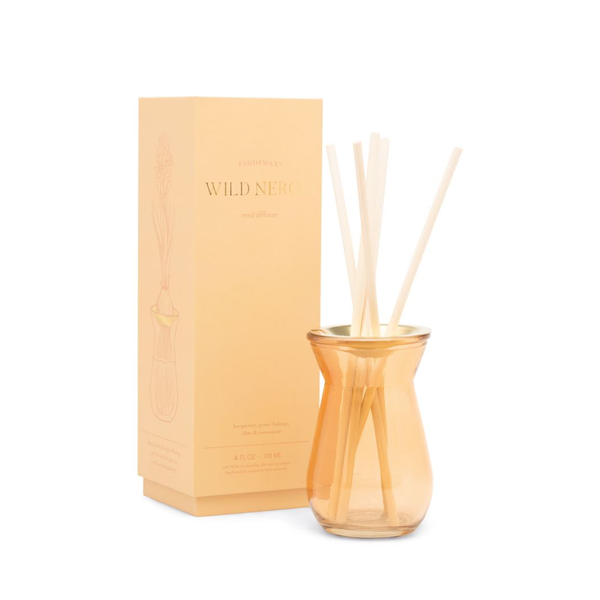 PDW DIFFUSER: FLORA WILD NEROLI 4 OZ Paddywax Home - Candles - Incense, Diffusers, Air Fresheners & Room Sprays