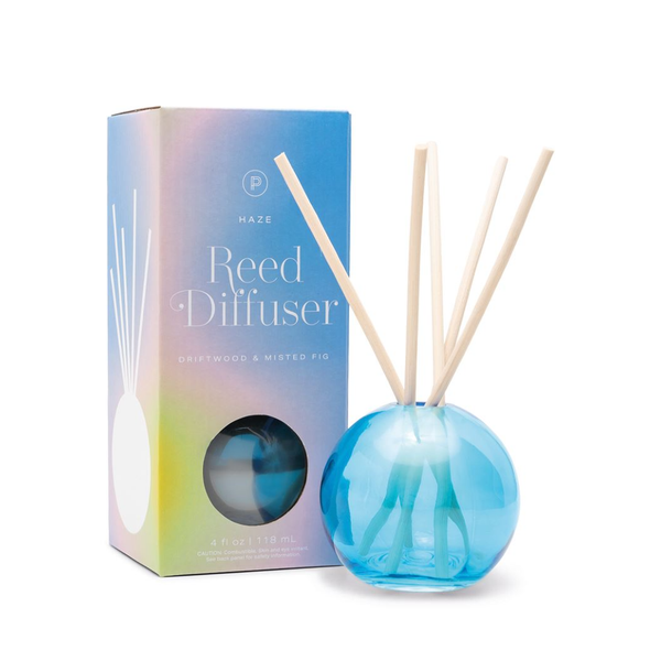 PDW DIFFUSER: REALM HAZE DRIFTWOOD & MISTED FIG 4 OZ Paddywax Home - Candles - Incense, Diffusers, Air Fresheners & Room Sprays