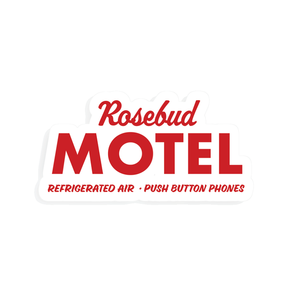 Rosebud Motel Sticler Party Mountain Paper Co. Impulse - Stickers