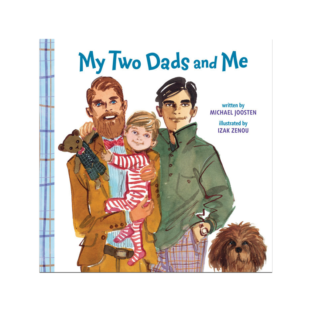My Two Dads and Me Board Book Penguin Random House Board Books