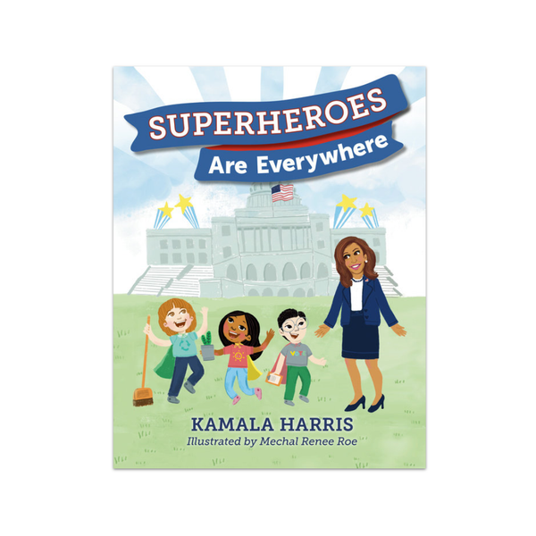 Kamala Harris's Superheroes Are Everywhere Book Penguin Random House Books - Children