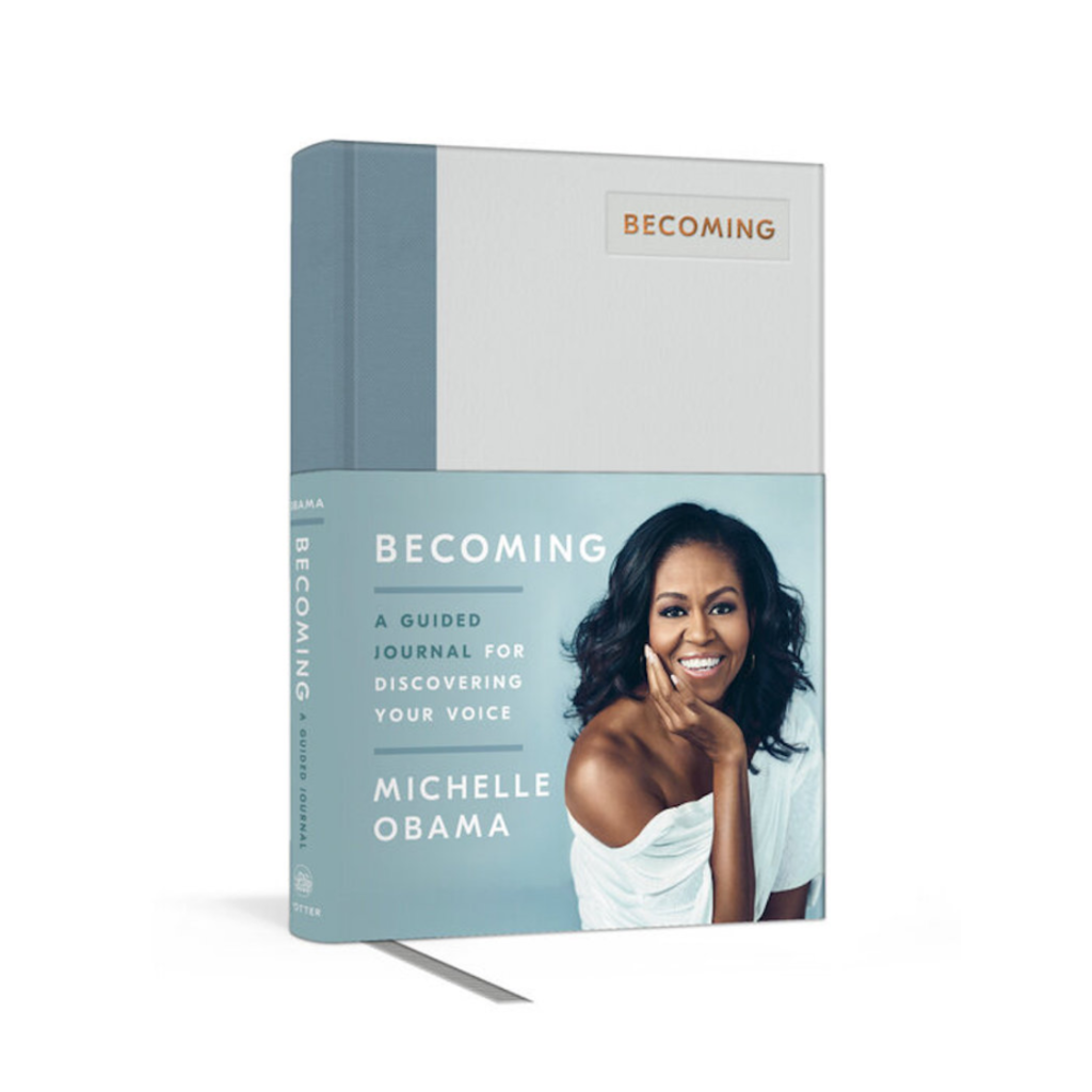 Becoming: A Guided Journal for Discovering Your Voice by Michelle Obama Penguin Random House Books - Guided Journals & Gift Books