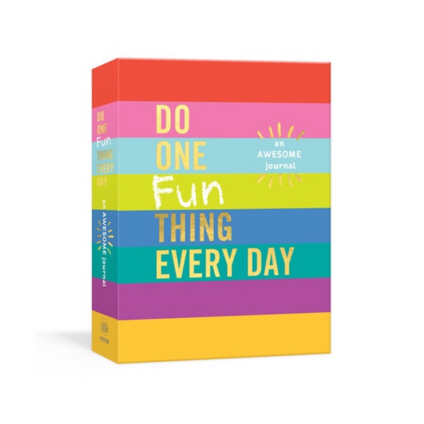 Do One Fun Thing Every Day An Awesome Journal Penguin Random House Books - Guided Journals & Gift Books