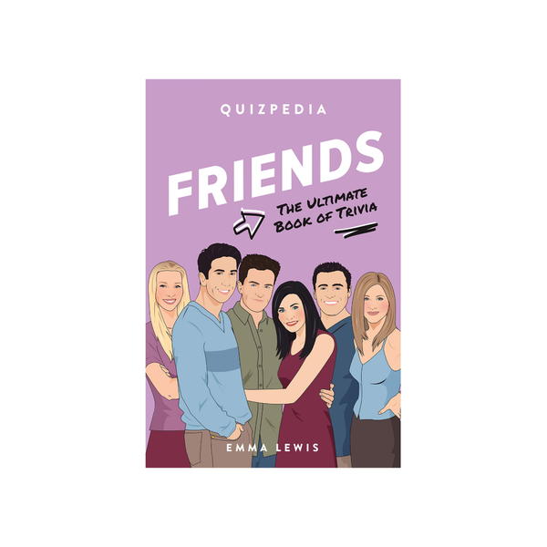 Friends Quizpedia Penguin Random House Books - Other