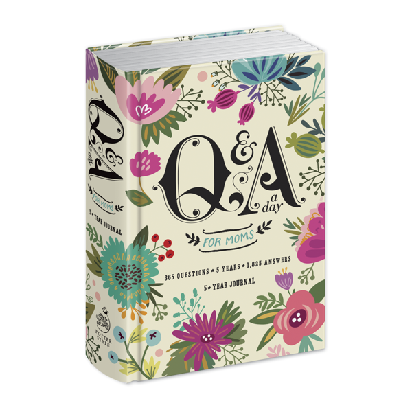 Penguin Random House Cards & Books,Art & Inspiration,Browse All Q & A A Day For Moms Journal