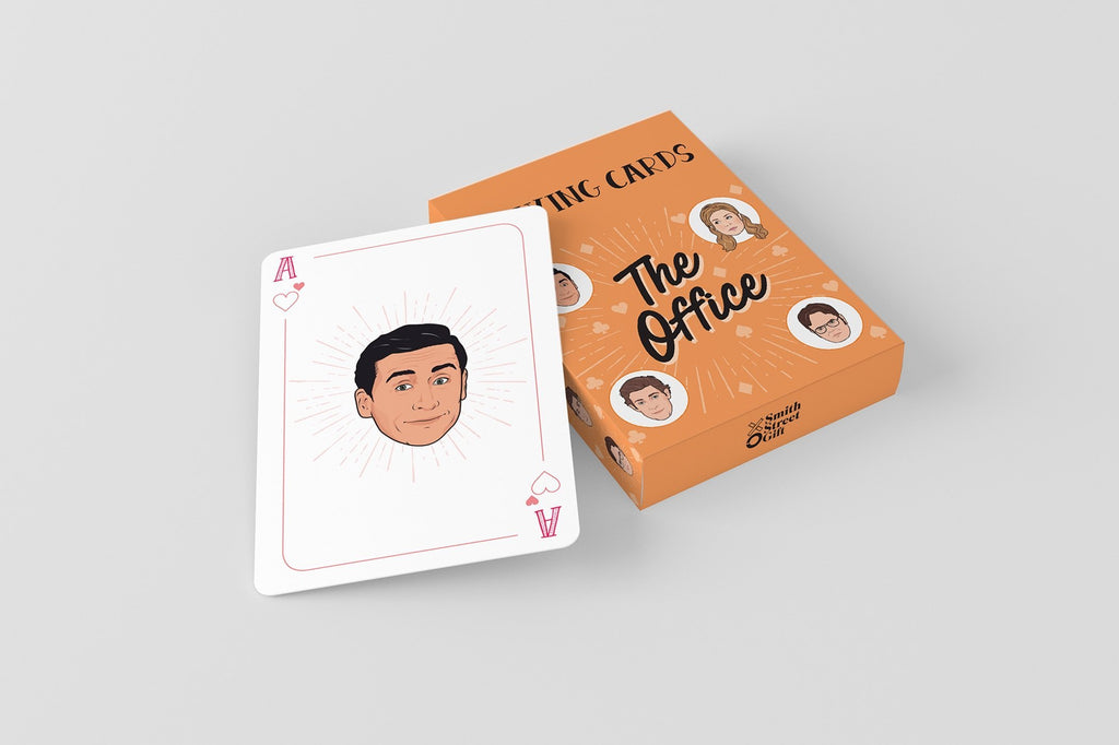 PLAYING CARDS THE OFFICE Penguin Random House Impulse - Games