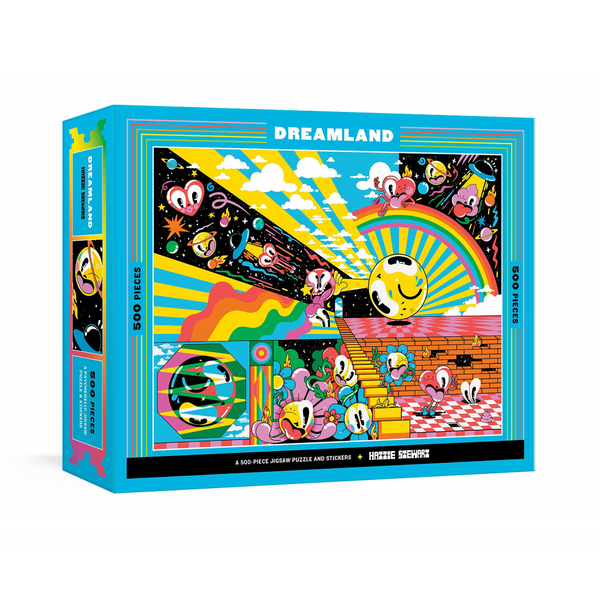 Dreamland 500 Piece Jigsaw Puzzle Penguin Random House Impulse - Puzzle