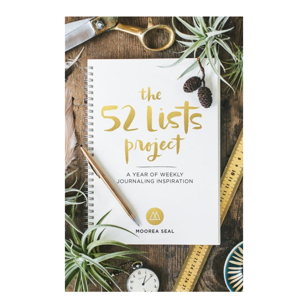 The 52 Lists Project Book Penguin Random House Media > Books > Non-Fiction > Journals