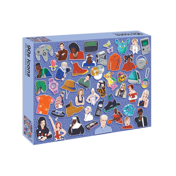 90's Icons 500 Piece Jigsaw Puzzle Penguin Random House Toys & Games - Puzzles