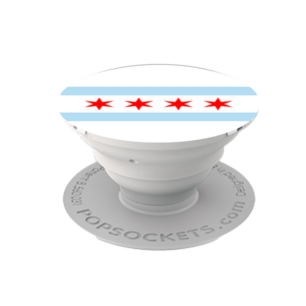 Chicago Flag Popsockets Popsockets Cell Phone Accessories