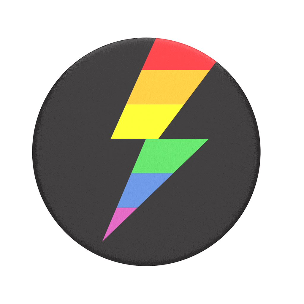 Popsockets Rainbow Thunder Popsockets Cell Phone Accessories