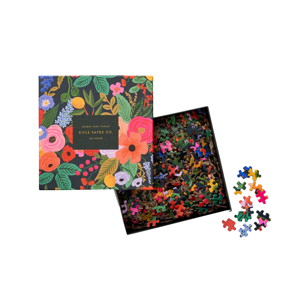 Garden Party 500 Piece Jigsaw Puzzle Rifle Paper Co. Toys & Games - Puzzles - Jigsaw Puzzles