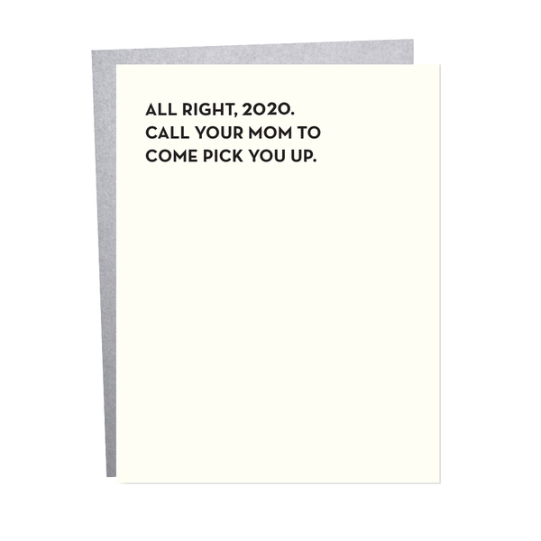 Call Your Mom Blank Card Sapling Press Cards - Blank