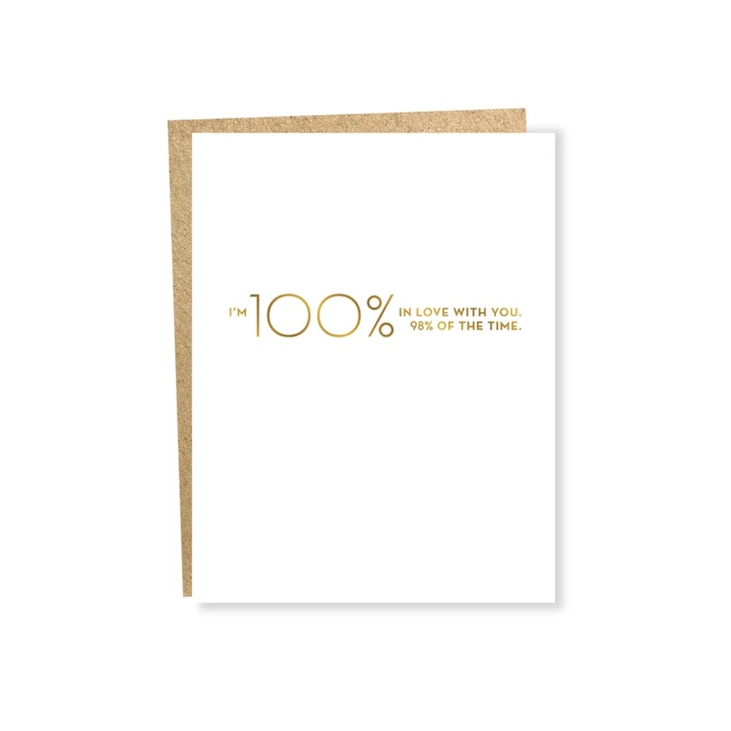 SAP CARD LOVE 100% SAPLING PRESS Cards - Blank
